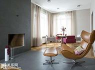 两款素雅清新舒适二居室装修效果图