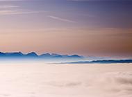 云雾风景精美电脑桌面壁纸