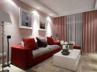 90平米两居室现代装修图温馨舒适