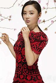 美女明星袁姗姗唯美写真演绎浪漫