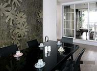 暖色调小户型复式房室内装修效果图