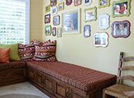 客厅照片背景墙效果图温暖舒适
