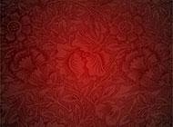 红色纹理喜庆背景高清素材