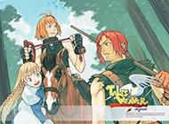 韩国2d网络游戏《天翼之链》壁纸