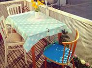 浪漫情人节情趣阳台装修图片