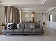 北欧简约明亮清新大格局套房装饰设计