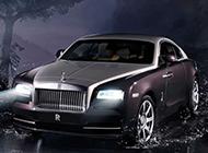 最新2014款劳斯莱斯Wraith轿车即将上市