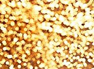 纯净闪烁金色光斑背景图