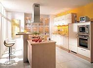 厨房吧台极简装修效果图时尚个性