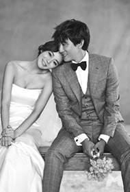 高梓淇蔡琳浪漫幸福婚纱写真照片