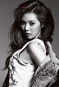 韩国明星金泫雅时尚写真照