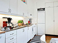小户型简约厨房装修效果图时尚个性