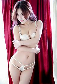 魅妍美女黄歆苑内衣写真魅力迷人