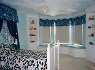 时尚唯美的卧室飘窗装修效果图