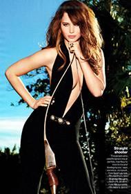 美国女演员詹妮弗·劳伦斯尽显狂野性感魅力