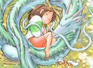 宫崎骏唯美动漫人物图片 千与千寻