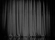 舞台幕布黑色背景图片赏析