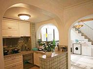 优雅简约的地中海厨房装修效果图大全