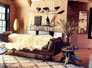 时尚阳刚气质客厅装修设计效果图欣赏