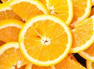 切开的橙子图片