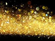 庄重金色粒子光斑背景图