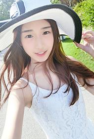 清纯学生妹胡文靖微博高清照片