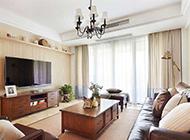 简欧客厅设计效果图时尚精致