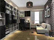 低调奢华的书房装修效果图