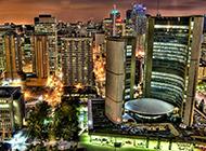 多伦多城市唯美风景高清电脑壁纸