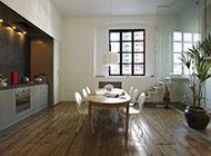 原木风舒适公寓设计装修效果图