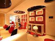 充满浪漫情调的小户型家庭吧台设计图片