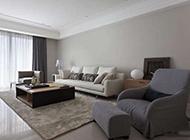 现代简欧二居室装修效果图宁静雅致