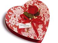 唯美清新红色小礼盒浪漫情人节素材