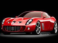 吸引眼球的法拉利跑车高清图片