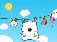 可爱小囧熊高清唯美卡通桌面壁纸