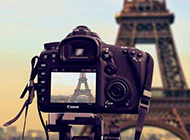 夏埃菲尔铁塔唯美真实意境图片