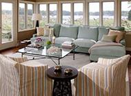 简欧时尚风格公寓客厅设计效果图