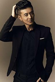 中国内地青年男演员阿楠眼神邪魅酷帅十足
