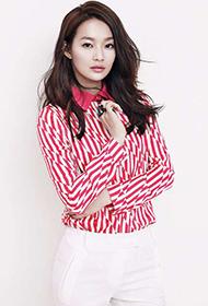 韩国女演员申敏儿时尚干练写真