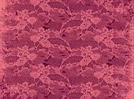 紫红色怀旧花朵花纹背景图