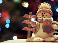 可爱冬日雪人唯美图片大全