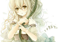 日系唯美可爱卡通女生图片