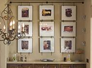餐厅相片墙设计图片推荐