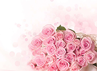 浪漫的一大束鲜花唯美图片