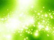 白色闪亮空间绿色背景图片