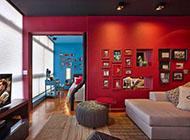 利用缤纷色彩带来的激情住宅风格设计