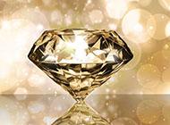 炫酷钻石高清PPT背景图片