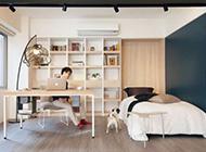 单身时尚简约公寓装修效果图舒适实用