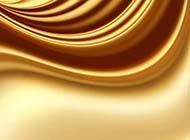 金色丝绸质感年会背景图片大全