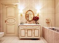 华丽高贵的欧式新古典装修风格浴室